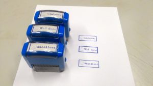 Комплект печатей для учителя